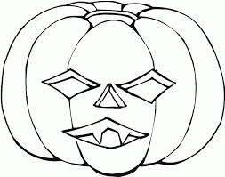 Download Coloring Pages Halloween Pumpkin Free Printable For Kids Images