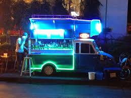 100 Fugu Truck Mobile Bar In Bangkok Dont Drink Drive Food Truck