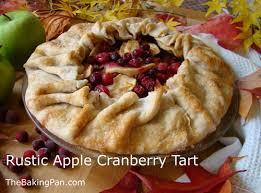 Rustic Apple Cranberry Tart Recipe