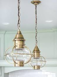 coastal cottage pendant lights inspired au room lighting