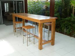 Plans For Wooden Patio Table by Outdoor Bar Designs Outdoor Bar Table And Stools Outdoor Table