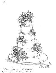Mallory Kenny s Custom Wedding Cake Design