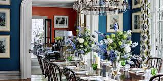 Interior Dining Rooms Paint Elegant Room Ideas With Chair Rail Regard To 19 From
