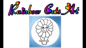 Kids Drawing Coloring Pages Flower Hot Air Balloon Lion Big Cat House Video