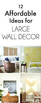 Diy Room Decor Wall Art Tumblr Baby Stickers 12 Affordable Ideas For Large Living Amazon