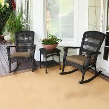 Patio Furniture Conversation Sets Home Depot by Shop Tortuga Outdoor Portside 3 Piece Wicker Patio Conversation