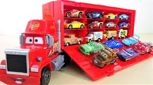 100 Disney Mack Truck Hauler Cars Pixar Cars No 95 Racer S Lightning