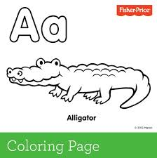 A Is For Alligator Create Colorful Alphabet Library With Us This Month Coloring Pages Toddlers PrintablesAbc
