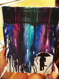How To Create Melted Crayon Silhouette Art