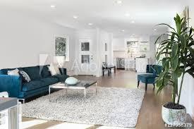 schöne und große wohnzimmer innenraum mit parkettböden flauschigen bilder myloview