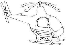 Great Helicopter Coloring Pages Best Design