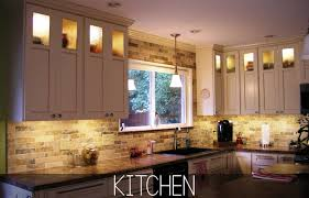 inspired led kitchen lighting for above and cabinets