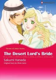 Manga Review The Desert Lords Bride By Sakumi Hanada And Olivia Gates