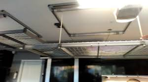 Racor Ceiling Storage Lift Canada by Auxx Lift Motorized Home Storage System Youtube