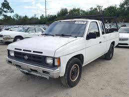 1991 Nissan Truck King For Sale At Copart Riverview, FL Lot# 52615218