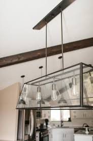 Pottery Barn Kitchen Ceiling Lights by The Dining Room U0026 Breakfast Bar Vacation Home Remodel The