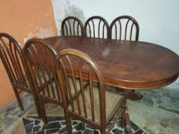 Dining Table With 6 Chairs Urgently For Sale