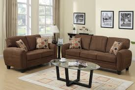 Best Fabric For Sofa Set by Hazel Brown Fabric Sofa And Loveseat Set Steal A Sofa Furniture
