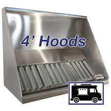 100 Truck Hoods 4 Concession Vent Hood 48 Concession Trailer Food Hood