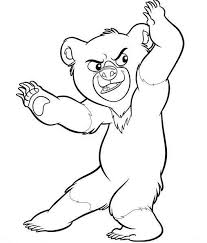 Free Brother Bear Coloring Page Pages 26 Printable