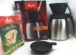 Melitta Stainless Steel Pour Over Thermal Carafe 64104