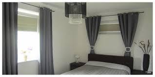 das schlafzimmer gestalten mit plissees