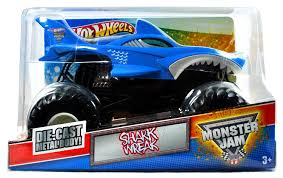 100 Shark Wreak Monster Truck Buy Hot Wheels Jam 124 Scale Die Cast Metal Body Official