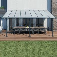 Palram Patio Cover Grey by Cheap Awnings For Sale Awnings For Homes Buy Sheds Direct