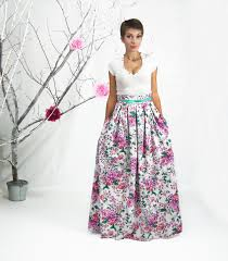 maxi skirt long floral skirt plus size skirt high waisted skirt