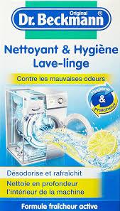 odeur linge machine a laver dr beckmann poudre hygiène lave linge 250 g fr