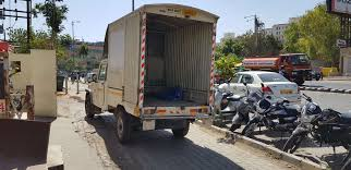 100 Truck Courier Parking ON Footpath Blue Dart Truck Times Of India