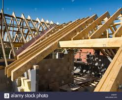 100 House Trusses Prefabricated Roof Stock Photos Prefabricated Roof