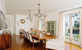 View In Gallery Cool Mediterranean Style Dining Room With Lovely Decor