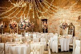 Decorating Wedding Venues Chic Tent