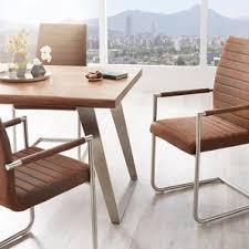 stühle stuhl xantus flex freischwinger rund edelstahl