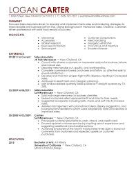 Sample Resume For Sales Brilliant Ideas Of Associate Your Proposal