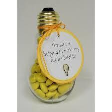 glass light bulb jar with gold lid