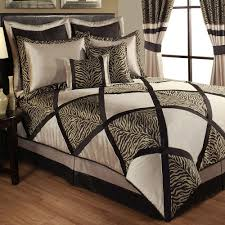 Leopard Print Bedroom Decor by True Safari Zebra Print Comforter Bedding