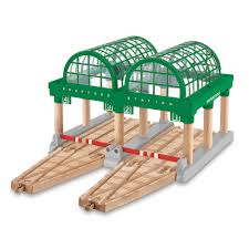 Tidmouth Sheds Trackmaster Toys R Us by Thomas And Friends Wooden Railway Wood Chipper Thomas And