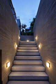 lighting wall for exterior space ideas gorgeous out side wall