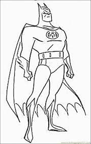 Batman Coloring Pages 3 Page