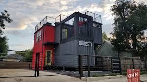 104 Shipping Container Homes In Texas List Of Builds San Antonio Go Home Here