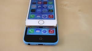 Apple iPhone 5s vs 5c parison w Features