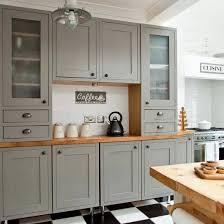 White Country Kitchen With Farmhouse Sink Butcher BlocksBq