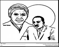 Unbelievable Harriet Tubman Coloring Page With Black History Month Pages And