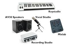 M Audio Recording Studio Equipment Starter Probs Digital Entertainment Ltd