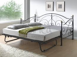 Sears Adjustable Beds by Metal Day Bed With Adjustable Bed Underneath In Either Cream Or