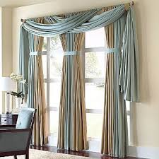 Jcpenney Curtains For Bay Window by Interesting Treatment For Drapery Panels Cindy Crawford Style