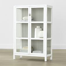 Crate And Barrel Leaning Desk White by Shop Kraal White Cabinet Finished In Fresh White This Clean