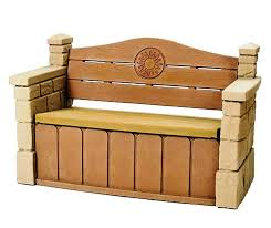 effective patio storage bench ideas to create a better patio area